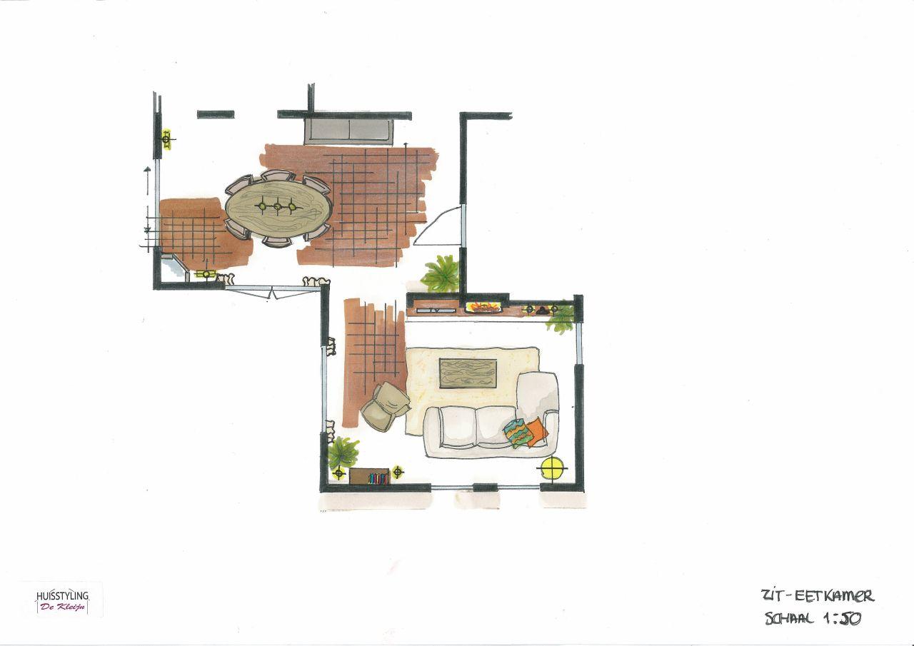 Complete Woon Eetkamer.Woon Eetkamer En Keuken Puiflijk Huisstyling De Kleijn